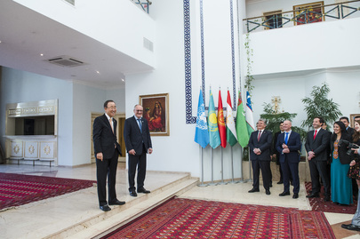 Secretary-General Visits UN Regional Centre in Ashgabat, Turkmenistan
