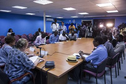 Special Representative of the Secretary-General in South Sudan Briefs Press
