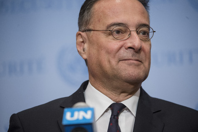 Security Council President Gives Statement to Press on Central African Republic
