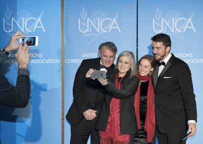 UN Correspondents Association Awards Event