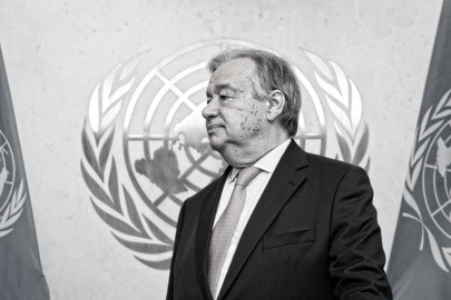 New UN Secretary-General's First Day at Work