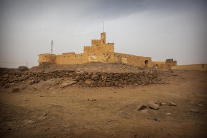 Street Scene in Kidal, Mali