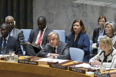 Security Council Debates Conflict Prevention, Sustaining Peace