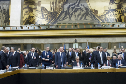 UN-Supported Conference on Cyprus Opens in Geneva