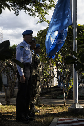 MINUSTAH Commemorates 2010 Earthquake in Haiti
