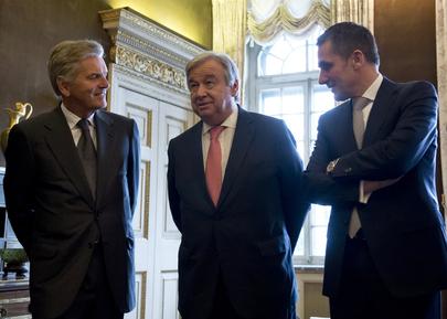 Secretary-General Meets President of Geneva Council