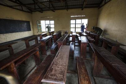 Rwandan Battalion Helps Local Community Clean School