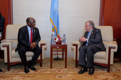 Secretary-General Meets President of Tanzania