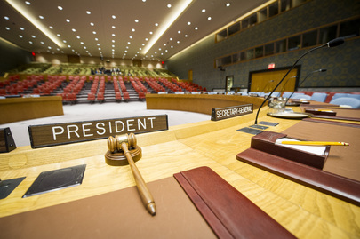 Security Council Chamber, UN Headquarters