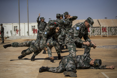 MINUSMA Holds Medal Parade for Chinese Contingent, Gao