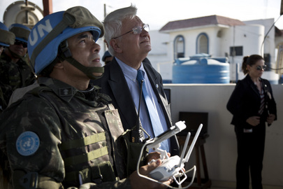 UN Peacekeeping Chief Visits Haiti