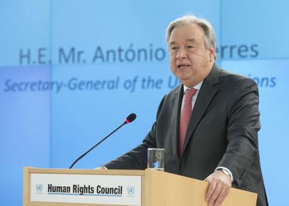 Secretary-General Addresses Human Rights Council
