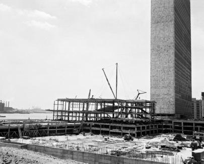 Construction of U.N. Headquarters