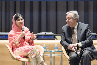 UN Designates MalalaYousafzai as Messenger of Peace