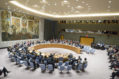 Draft Security Council Resolution on Syria Vetoed