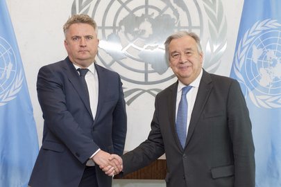 Secretary General Meets Deputy Foreign Minister of Ukraine