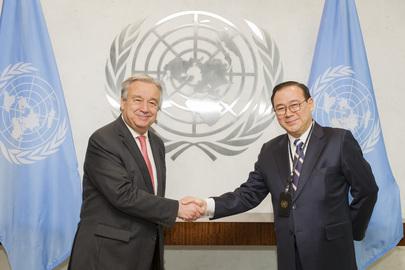 New Permanent Representative of Philippines Presents Credentials