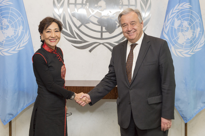 Secretary-General Meets Head of MINURSO