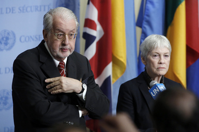 Commissioners of Inquiry on Syria Brief Press