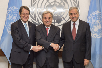 Secretary-General Meets Cypriot Leaders