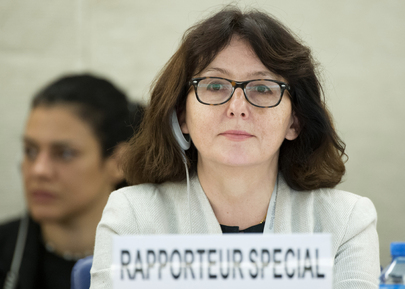 Special Rapporteur on Violence Against Women Addresses Human Rights Council
