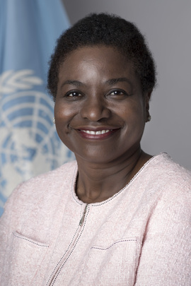 Portrait of Executive Director of UNFPA