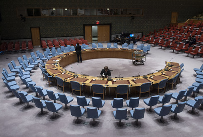 Security Council Chamber Between Meetings