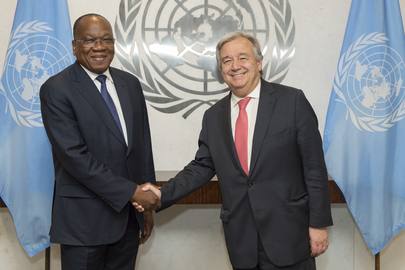 Secretary-General Meets Special Representative for UNOCA