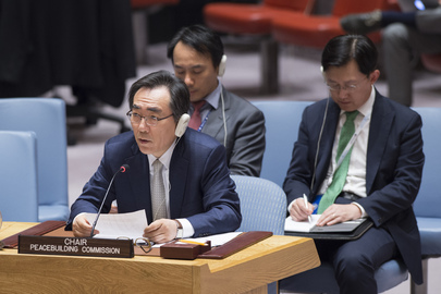 Security Council Considers Work of Peacebuilding Commission