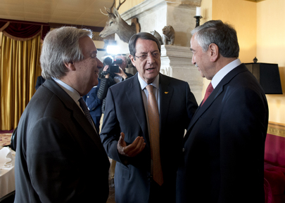 Secretary-General Chairs Cyprus Conference