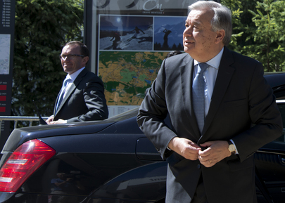 Secretary-General Returns to Conference on Cyprus