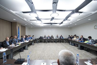 UN Envoy Meets Representative of Syrian Opposition