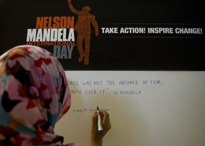 UNOG Marks Nelson Mandela Day