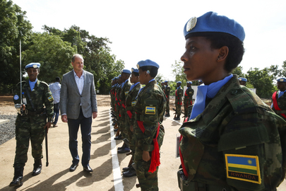 Rwandan Troops Arrive in South Sudan for Deployment in Regional Protection Force