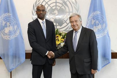 Secretary-General Meets Special Representative for Guinea-Bissau
