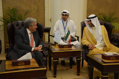 Secretary-General Meets Speaker of Kuwaiti Parliament