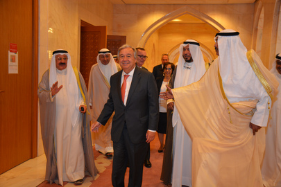 Secretary-General Visits Kuwait