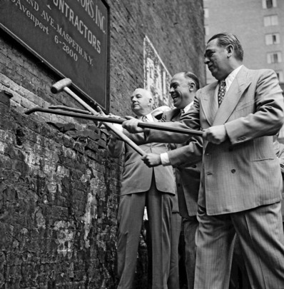 Demolition Begins on United Nations Permanent Headquarters