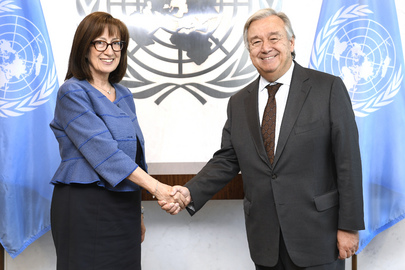 Farewell Call by Permanent Representative of Greece