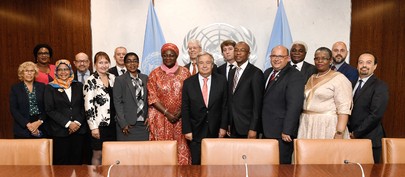 Secretary-General Meets Co-Chair of UN-Habitat Panel, Mayoral Delegation