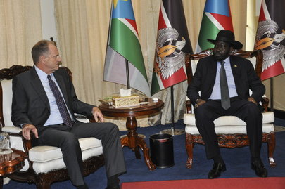 UNMISS Head Meets President of South Sudan