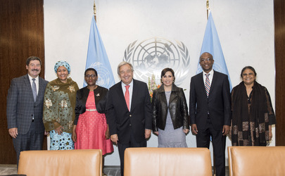 Secretary-General Meets Independent Panel on UN-Habitat