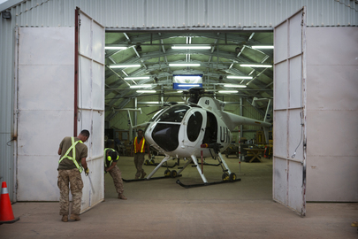 Salvadorian Armed Helicopter Unit Serving with MINUSMA