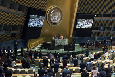 Opening of Seventy-second Session of General Assembly