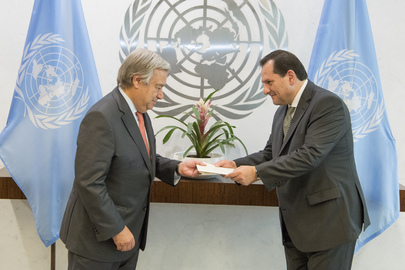 New Permanent Representative of Ecuador Presents Credentials