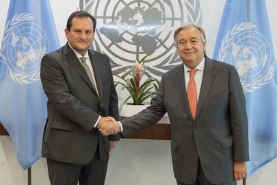 New Permanent Representative of Ecuador Presents Credentials