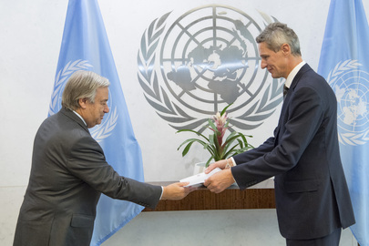 New Permanent Representative of Norway Presents Credentials