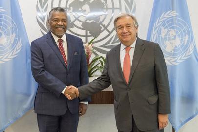 New Permanent Representative of Guinea-Bissau Presents Credentials