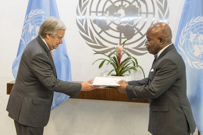New Permanent Representative of Côte d'Ivoire Presents Credentials