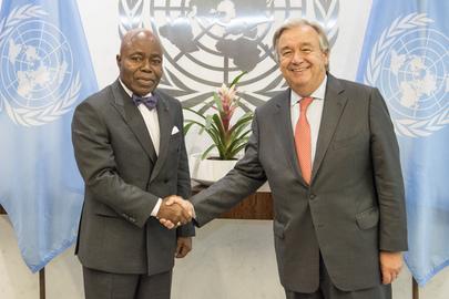 New Permanent Representative of Côte d'Ivoire Presents Credentials